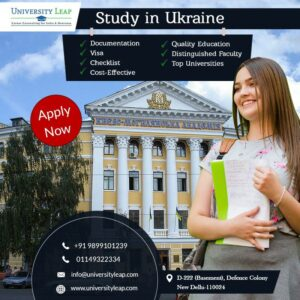 Study in Ukraine (Overseas Education Consultants in Delhi)