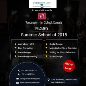 Vancouver Film School, Canada Partners with University Leap