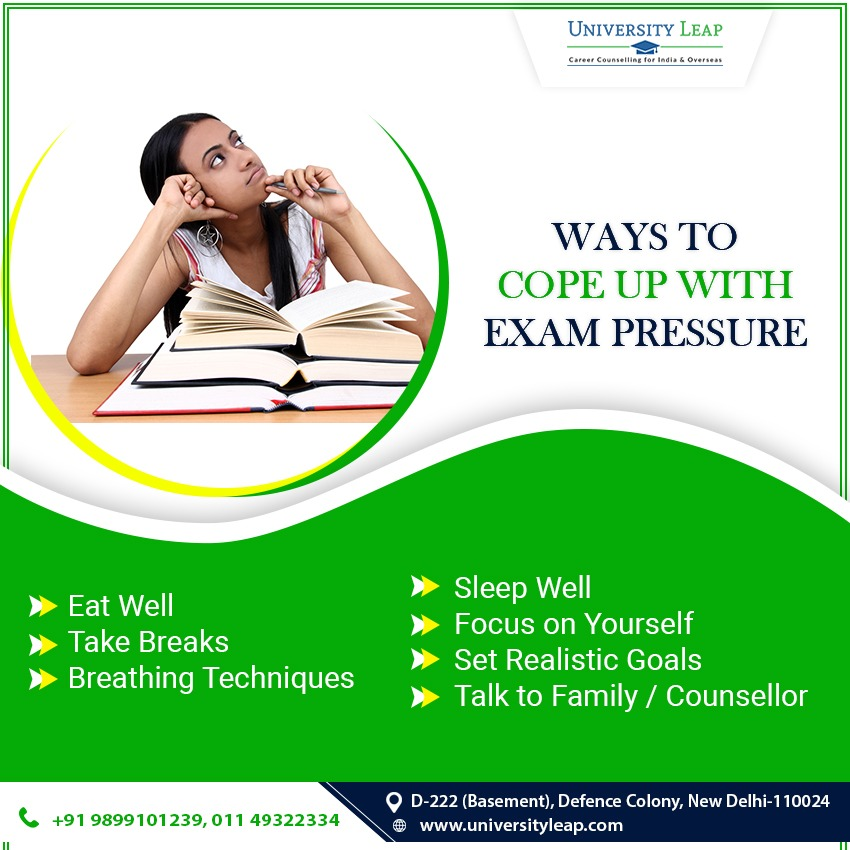 how to ease exam pressure? | best education consultant in delhi
